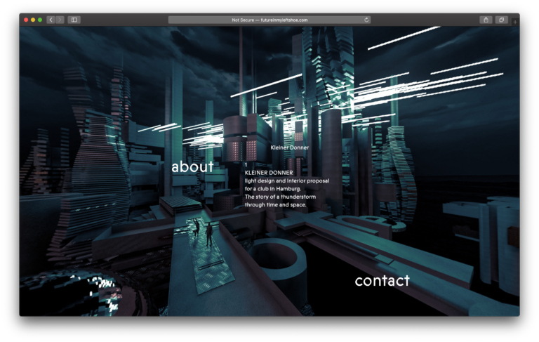 future in my left shoe 3d websitehome